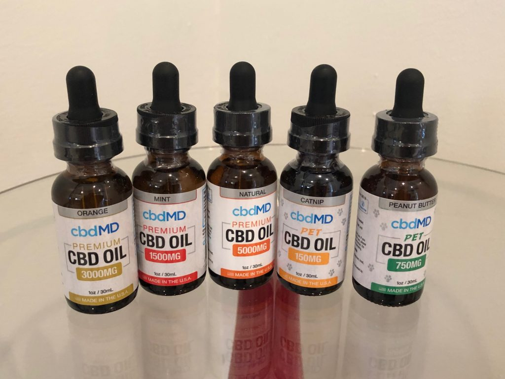 CBD MD Oils